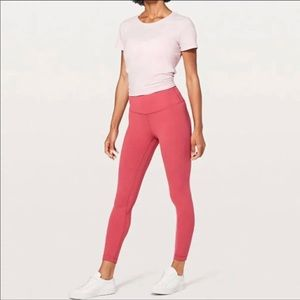 NWT lululemon align pants vintage rose